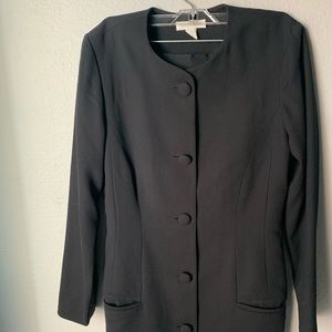 Ann Taylor Black Skirt Suit